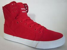 Supra  Skytop D Red  Men Walking Shoes 8.5
