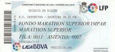 Ticket - Deportivo v Sporting Gijon 2015/16