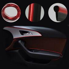 Streifen Interieur Auto Styling Amatur Rahmen Rot Leiste Verzierung Sportlich 5M