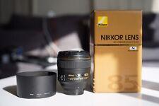 Nikon Nikkor 85mm f/1.4 G Lens