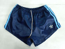 ADIDAS VINTAGE SHORT GLANZ SPRINTER NYLON SHINY HOSE RETRO WEST GERMANY