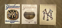 New York Yankees '97, '98, and 2007 Official Team Yearbooks