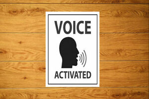 Voice Activated Prank Sticker Packs (10-100)  Fake Home Devices Automation