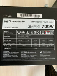 Thermaltake Smart Series 700W SLI/CrossFire Ready 80 PLUS PFC Power Supply