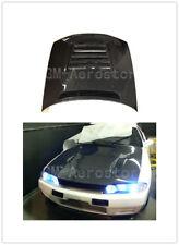 Carbon Fiber DMX Style Hood For 89-94 Nissan Skyline R32 GTR