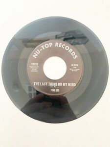 """Toni Lee 7"""" 45 RPM A Million Roses / The Last Thing On My Mind Vinyl Record"""