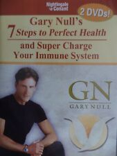 GARY NULL'S 7 STEPS TO PERFECT HEALTH-(2 DVD SET)-VERY RARE UK.FREE POST.
