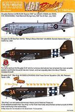 Kits World Decals 1/144 DOUGLAS C-47 DAKOTA & SKYTRAIN