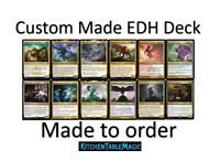 MTG Custom EDH Deck - Made to Order - Choose your own Commander - Leave it to me