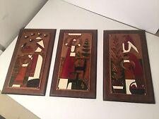 3 Decorative Wall Hangings