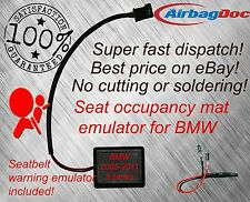 Siège occupation tapis emulator pour BMW E90 E91 E87 E88 Airbag Capteur bypass