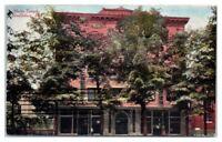 1908 Malta Temple, Stroudsburg, PA Postcard