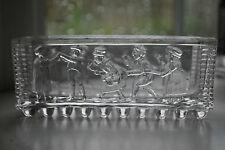 "Victorian Sowerby Flint Glass Trough ""Oranges and Lemons""  c.1875    #211"