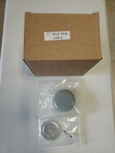 1 in. Oil-tight Knockout Hole Seal with Gasket Set Of 10