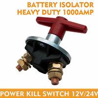 1 x Interruttore di isolamento batteria Cut OFF INTERRUTTORE AUTO MARINE BARCA