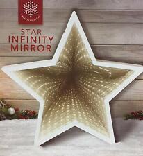 STAR SHAPED INFINITY MIRROR DECORATION LIGHT GIFT SET