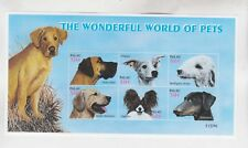 palau 2002 dogs,sheet,MNH        k2080
