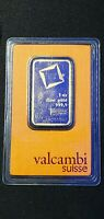 1 oz .9999 Gold Valcambi Bar in Factory Sealed Plastic Capsule With Assay