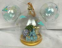Walt Disney World Mickey Mouse Icon Ears Blown Glass Christmas Ornament 4 Parks