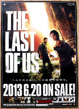 THE LAST OF US RARA ps3 51.5 CM x 73 giapponese PROMO POSTER #2