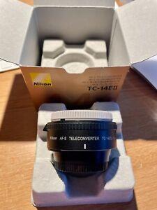 Nikon TC 14E II Autofocus Teleconvertor   Mint, Boxed,  SUPERB !