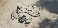 BMW E46 M3 S54 3.2 Aircon Air Conditioning AC Pump & All Pipes Belt Bracket