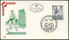 Austria 1967 Sports, Hammer Thrower FDC First Day Cover #C17995
