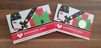 """Coincard Portugal 2012 mit 2 Euro Gedenkmünze """" Guimares """" PP - Polierte Platte"""