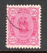 Finland - 1875 Def. Coat of Arms Mi. 17Byb FU (Perf. 12,5)  b