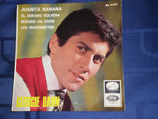 GEORGIE DANN - JUANITA BANANA - RARE 1966 SPANISH E.P. - EXC.