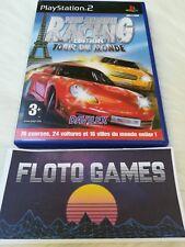 Jeu Paris Marseille Racing Tour Du Monde PS2 PAL Complet CIB - Floto Games