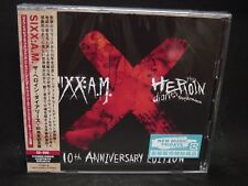 SIXX:A.M. The Heroin Diaries Soundtrack JAPAN CD+DVD Motley Crue Guns 'N' Roses