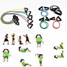 Hot Resistance Band Sport Workout Tube Heavy Fitness Pilates Yoga Equipment Gym