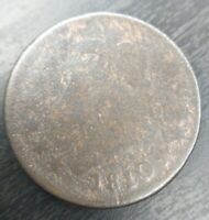 1810/09 Classic Head Large Cent, S-281 AG About Good Details