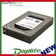 "STARTECH Dual Bay 2.5"" to 3.5"" SATA Hard Drive Adapter Enclosure with RAID"
