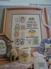 Country Inspirations - Bunnies Magazine Cross Stitch Pattern
