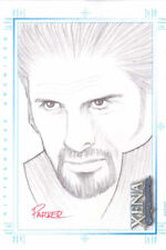 Xena Art and Images Patricia Parker Sketch Card  Xena hand drawn SketchaFEX