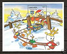 GRENADA # 1247 MNH DISNEY Christmas 1984 Donald