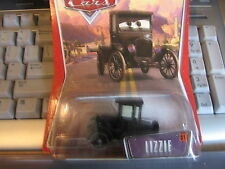 DISNEY PIXAR CARS LIZZIE THE WORLD OF CARS CREASED BUBBLE BLISTER