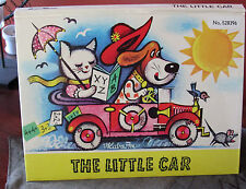 KUBASTA~THE LITTLE CAR hard cover pop up book very good cond, collectable