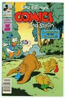 1991 Walt Disney's Comics And Stories #563 Camping In the Woods Comic Book