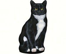 Fiddler's Elbow Tuxedo Cat pellet filled doorstop cotton silkscreen FE81