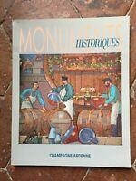 Rivista Champagne-Ardenne N° 145 Monumenti Storici Giugno - Juillet 1986
