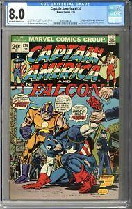 Captain America #170 CGC 8.0
