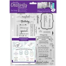 docrafts Creativity Essentials A5 Clear Stamps - 533647