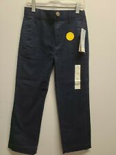 New Cat & Jack Boys' Flat Front Straight Fit Stretch Uniform Chino Pants Size 6