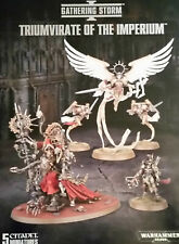 Warhammer 40k Triumvirate of the Imperium New Saint Celestine, Cawl, Greyfax