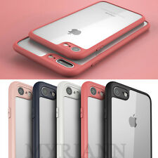 Crystal Clear Bumper Case Slim Shockproof Back cover For Apple iPhone 8 7 6 Plus