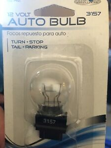 Auto Bulb 12 Volt 3157 New