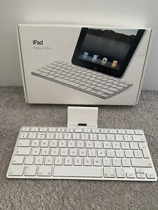 Genuine Apple iPad Keyboard Dock Compatible With iPad 1st 2nd 3rd Gen A1359
